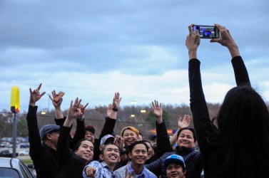Groupie. It was a kind of selfie which involved more than one person (photo by Iksan)