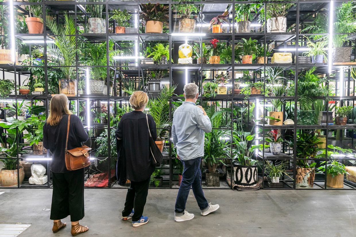 Hauser & Wirth Rashid Johnson © Art Basel