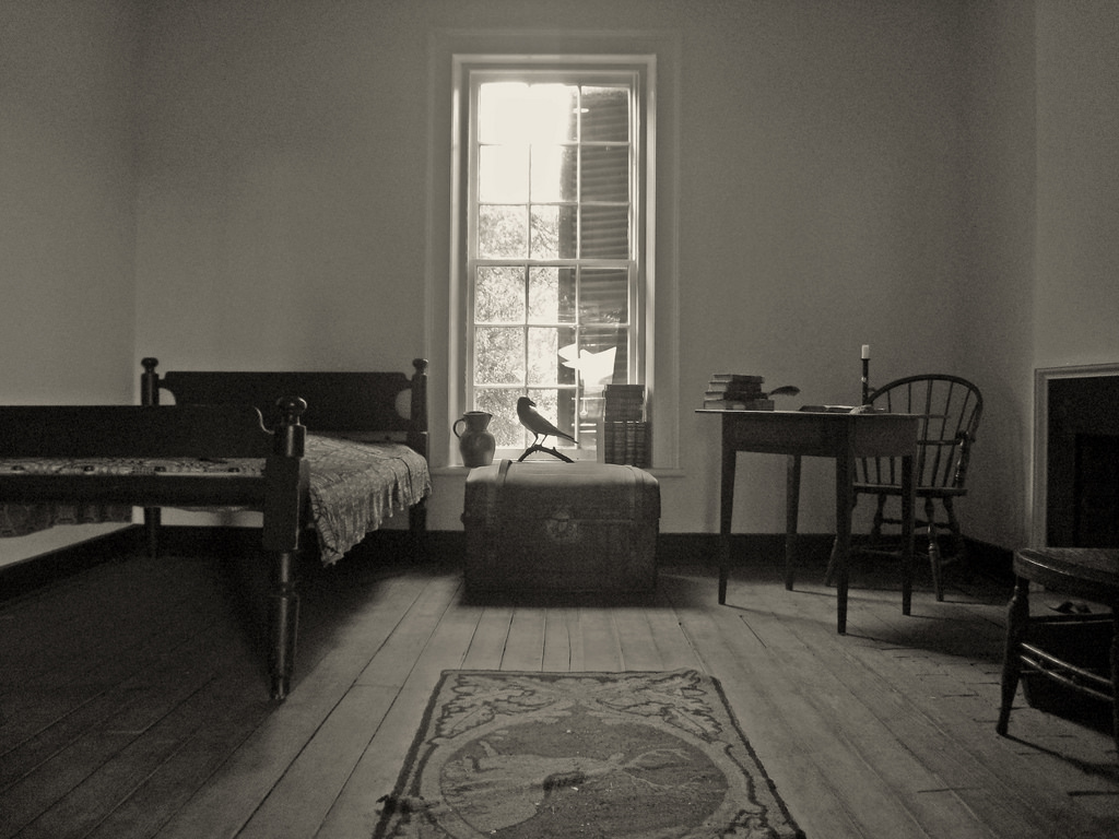 University of Virginia - room of Edgar Allan Poe