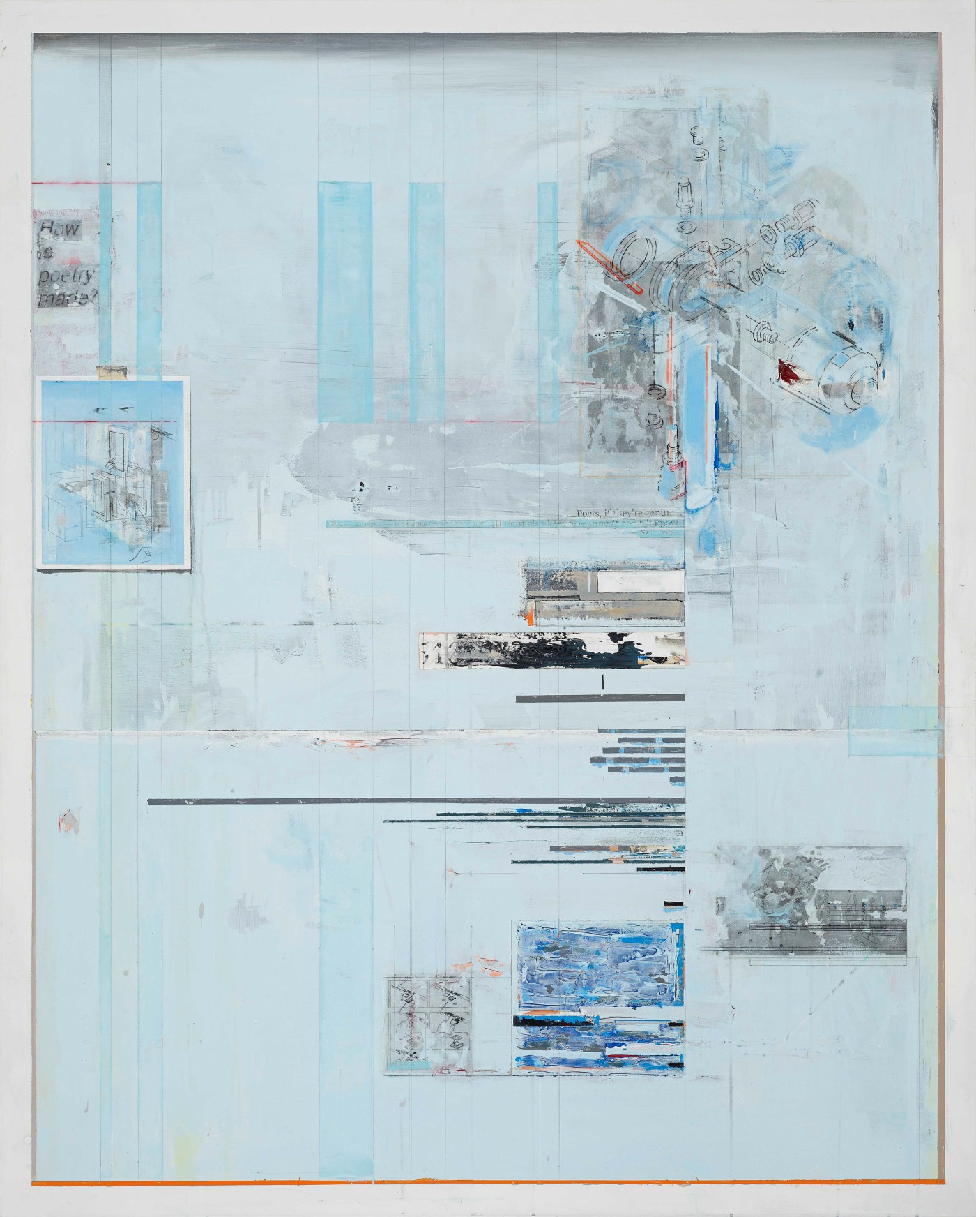 3. 陳建榮 CHEN Chien-Jung, Aircraft 21, 2017, 壓克力顏料、綜合媒材、畫布, acrylic, mixed media on canvas, 162x130x3cm.jpg