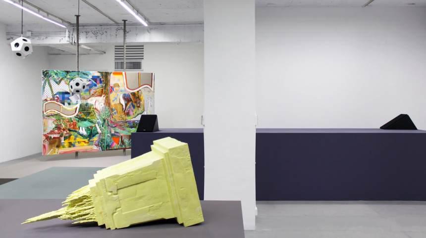 Week 4- 王福瑞 Wang Fujui, 《幻聲跡》'Hyper Trace', 2018, 喇叭, 客製電子裝製 speakers, custom electronic device installation, 尺寸依場地而定 dimensions variable
