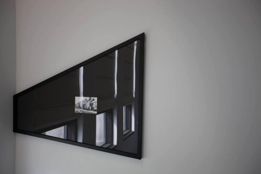 為了訓練一種有偏見的視覺 2019 收藏級照片輸出, 不對稱相框82x71.5cm