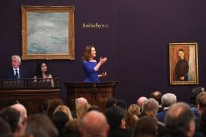 Sotheby's Impressionist Art Evening Auction