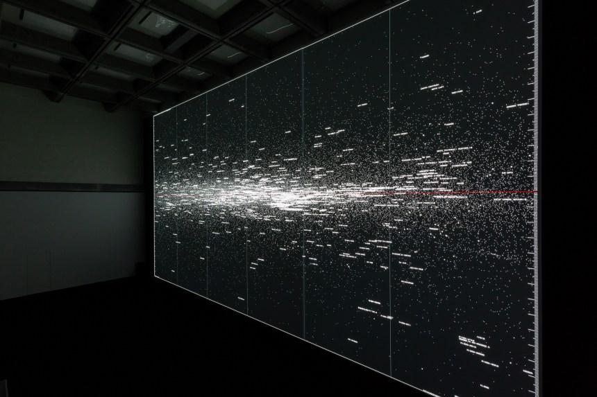08_Ryoji Ikeda_the planck universe [macro] © Ryoji Ikeda _ Taipei Fine Arts Museum
