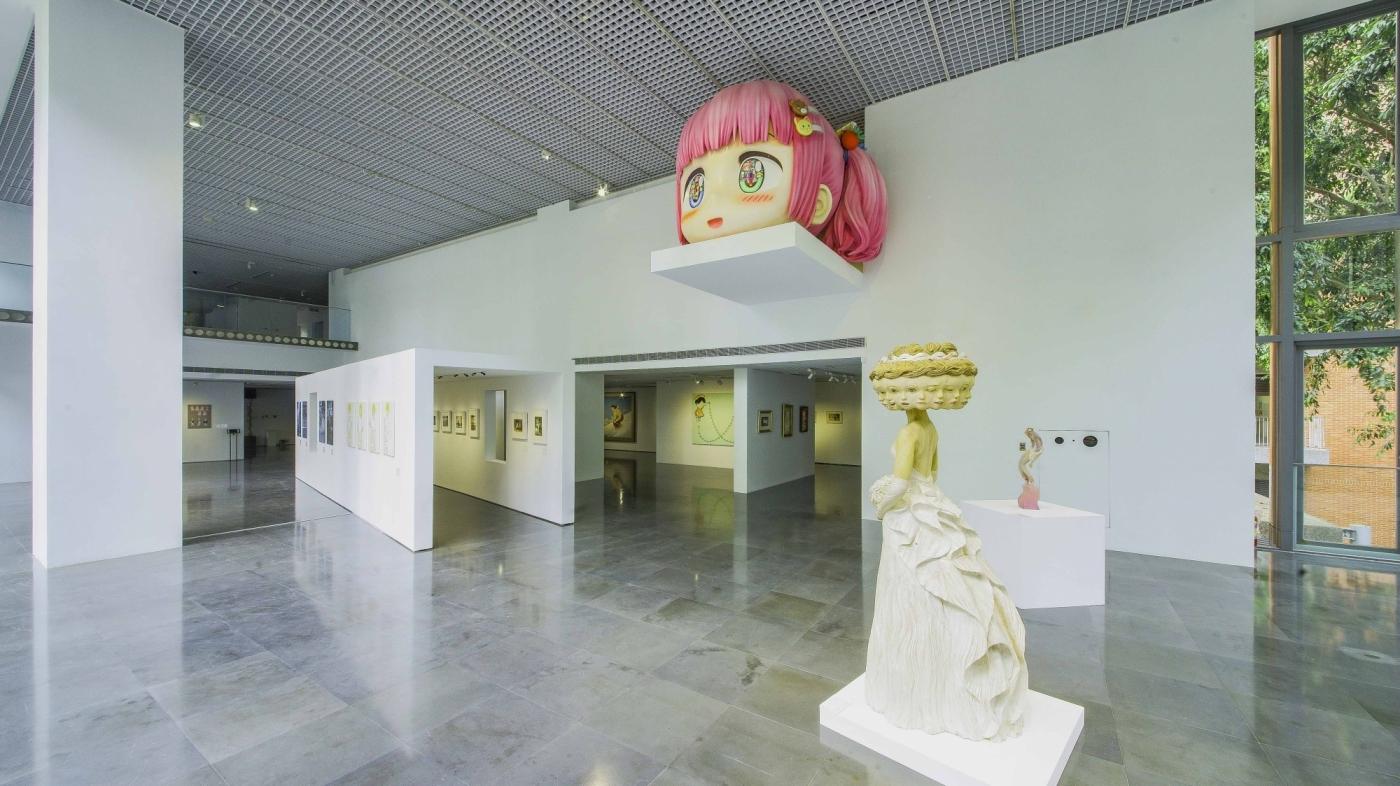 美少女的美術史 圖片提供/北師美術館 攝影/黃宏錡