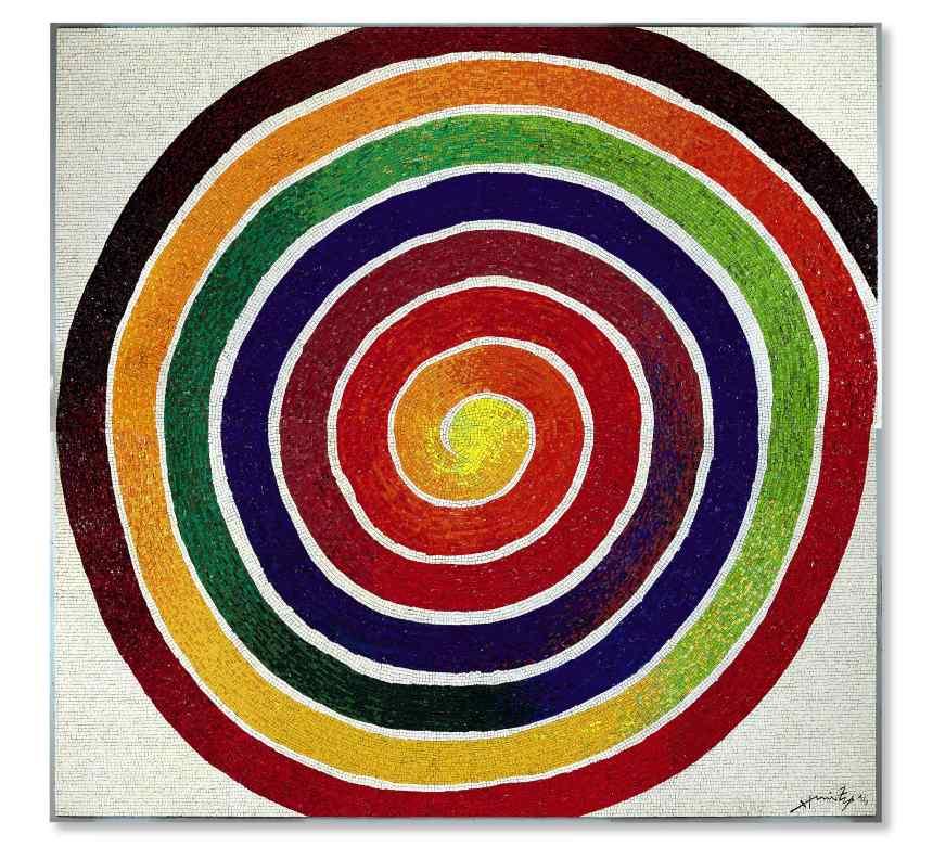 Enormous Cosmic Whirlpool, 1983 - 2014, mosaic glass