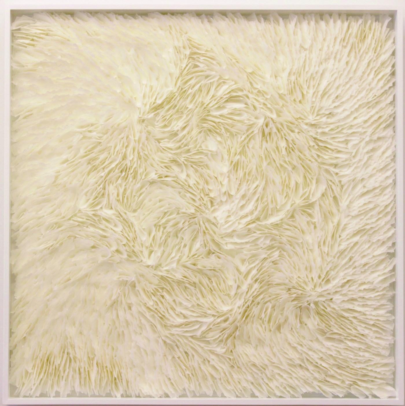 ART TAIPEI 2019 highlight - Rakuko Naito_ Untitled (RN936-3-1_2-16)_Japanese p…_91.5 x91.5 x 8.9 cm_2106 Courtesy of Whitestone Gallery| 日本東京
