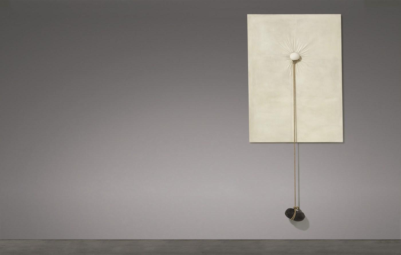 Nobuo Sekine - Phase of Nothingness 2 Courtesy of Sotheby's