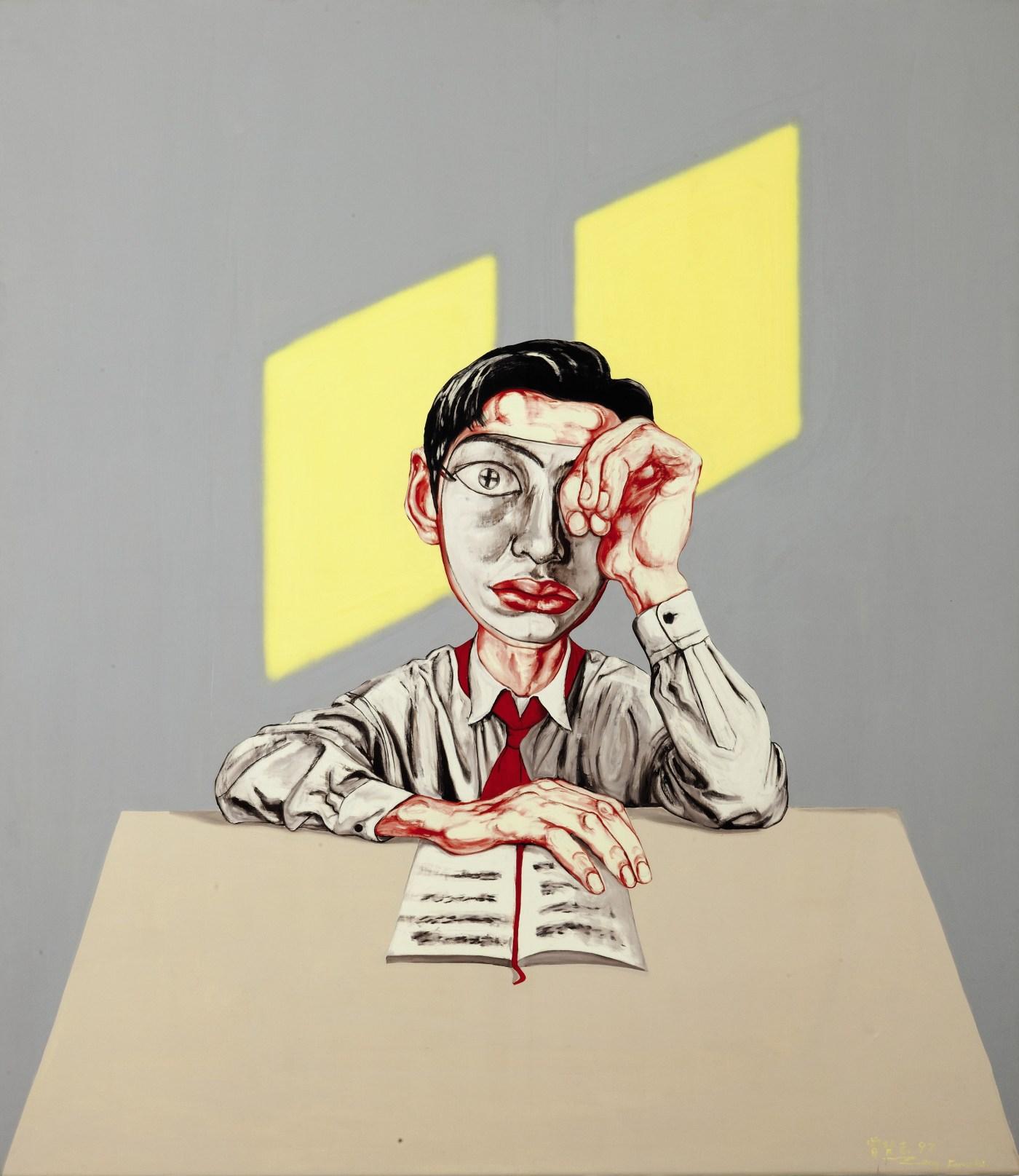 Zeng Fanzhi - Mask Courtesy of Sotheby's
