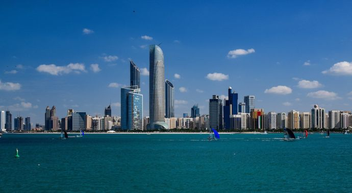 Abu Dhabi. Photo by Wadiia, via Wikimedia Commons.