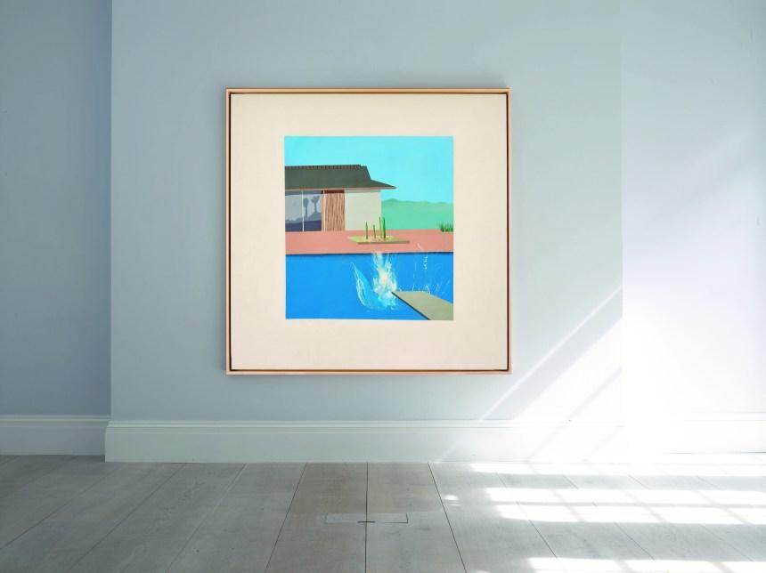 David Hockney, The Splash, 1966 圖/香港蘇富比提供