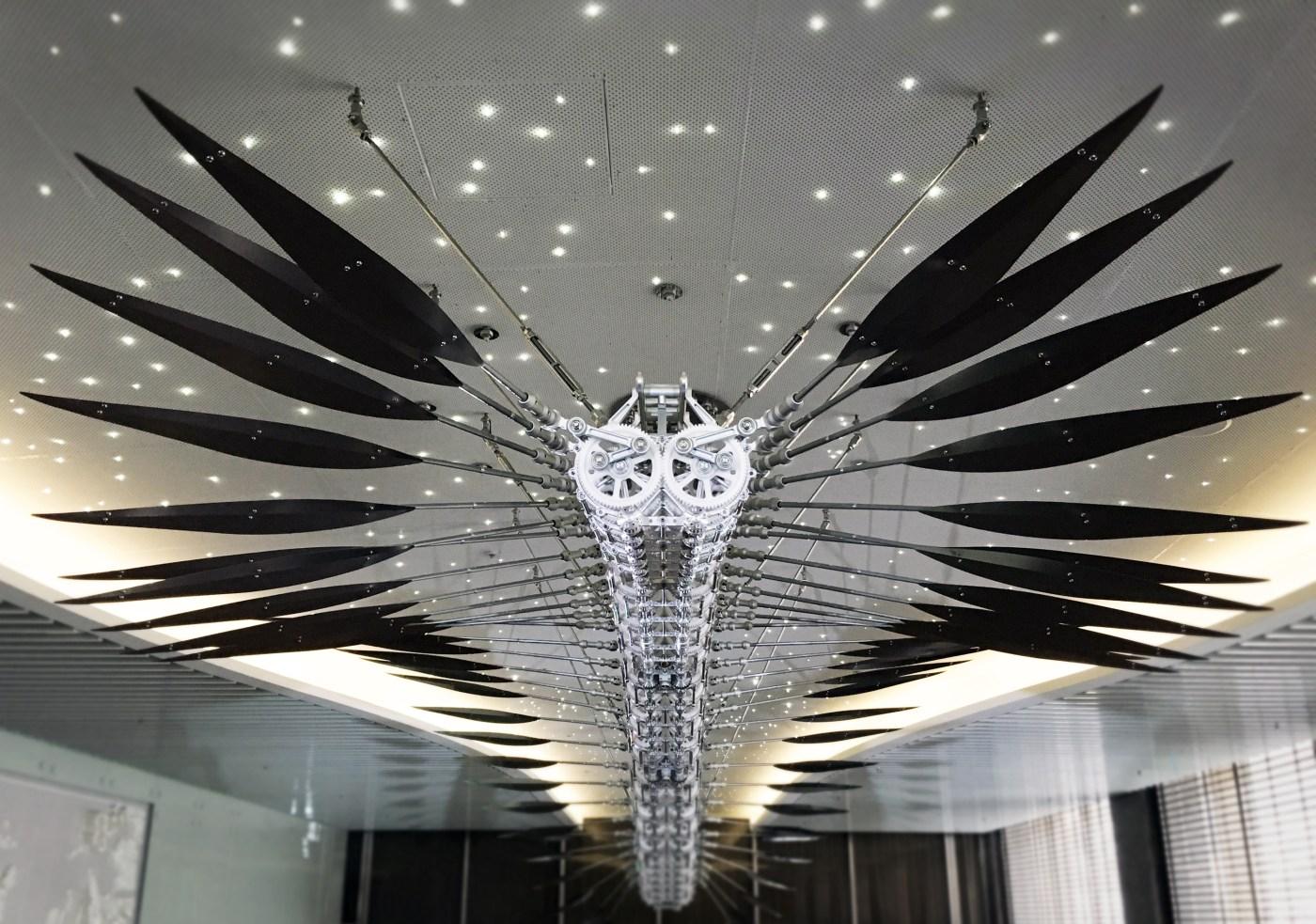 Eslite Gallery_LuxuryLogico_Wondering Feather_ 漫遊-羽