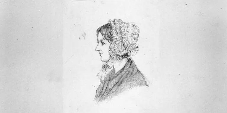 1856年,弗洛倫斯(生病時)畫的一幅速寫,圖片來源: nam.ac.uk