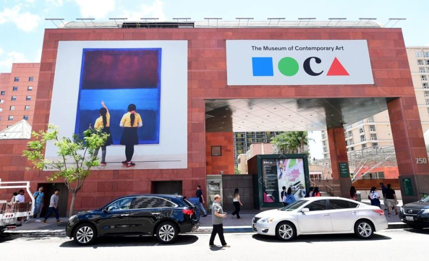 MOCA LA. Photo by Frederic J. Brown/AFP via Getty Images.