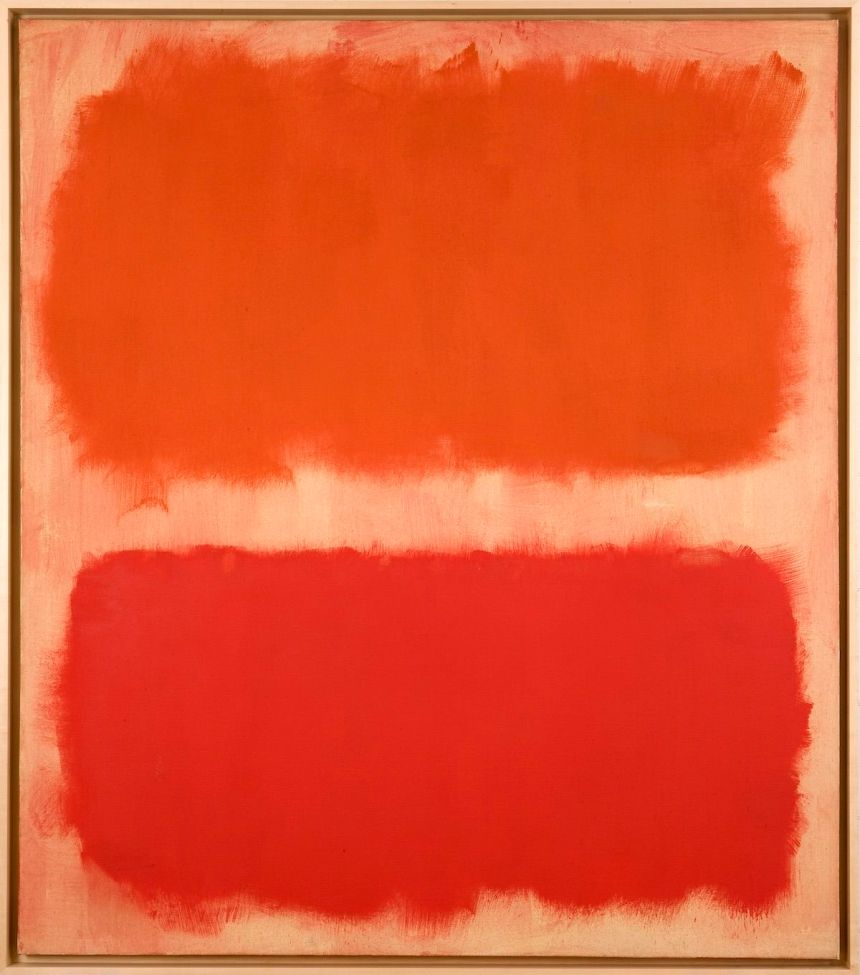 Mark Rothko, Number 22 (reds), 1957. © 2020 Kate Rothko Prizel and Christopher Rothko : ARS, New York. Courtesy the Donald B. Marron Family Collection, Acquavella Galleries, Gagosian, and Pace Gallery.