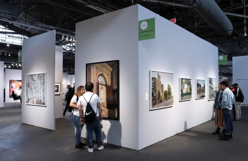 Visitors to the AIPAD Photography Show at Pier 94 in 2019. Photo by Elvert Barnes, via Flickr
