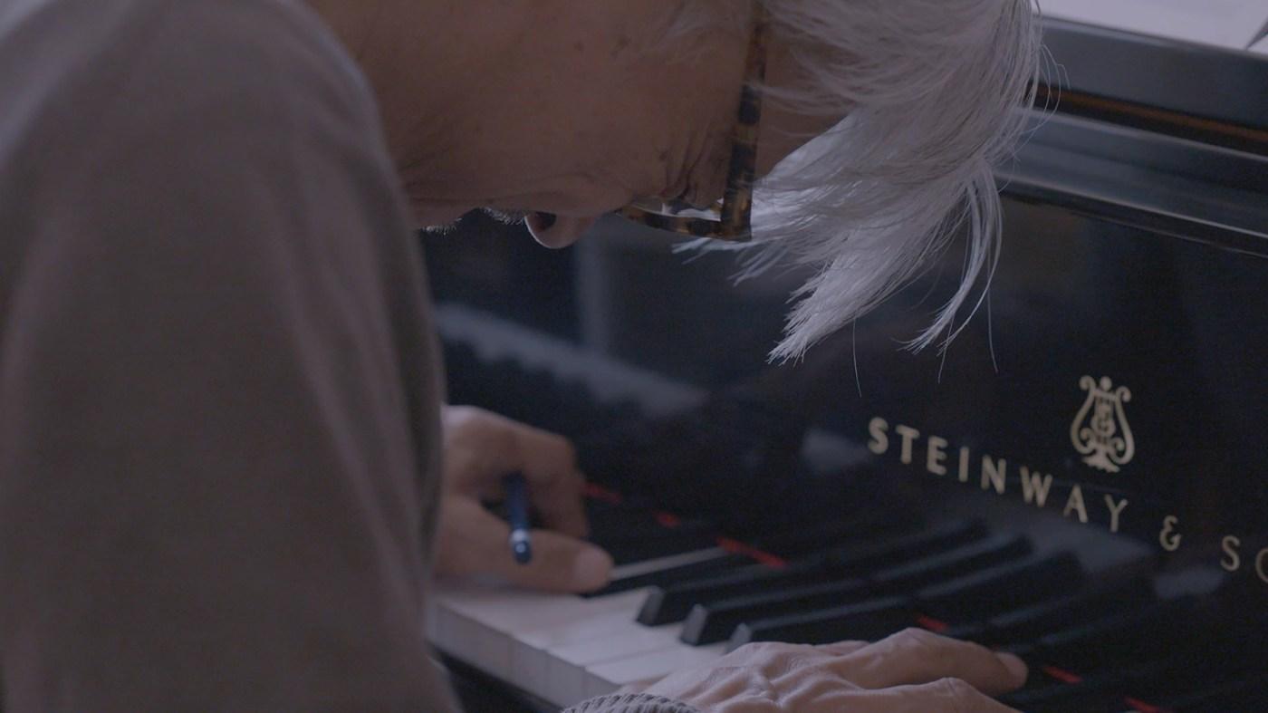 RYUICHI SAKAMOTO 坂本龍一紀錄片劇照 PHOTO CREDIT/ 佳映娛樂 Joint Entertainment International Inc.