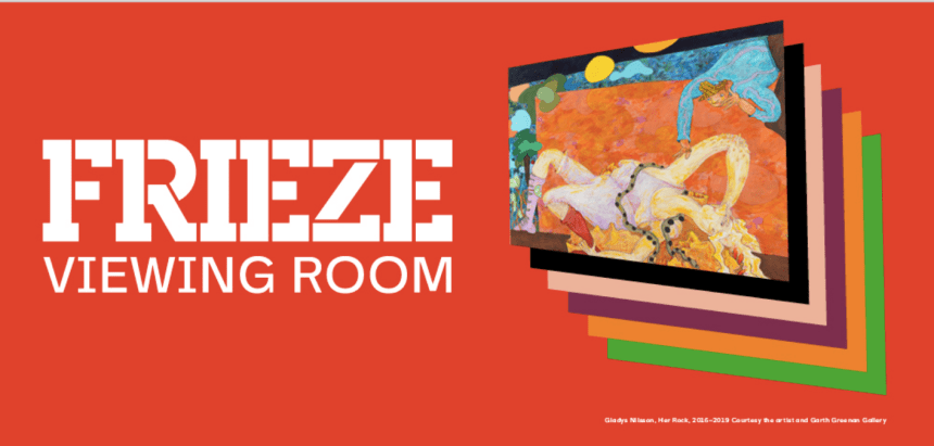 Frieze Viewing Room will launch with an online edition of Frieze New York. From May 8-15