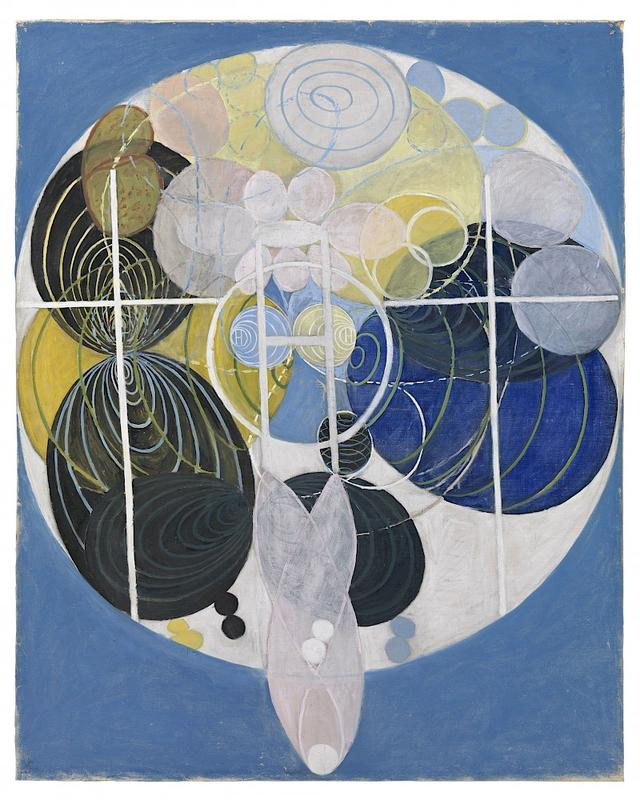 Hilma af Klint, Figure No 5, Group III, 1907