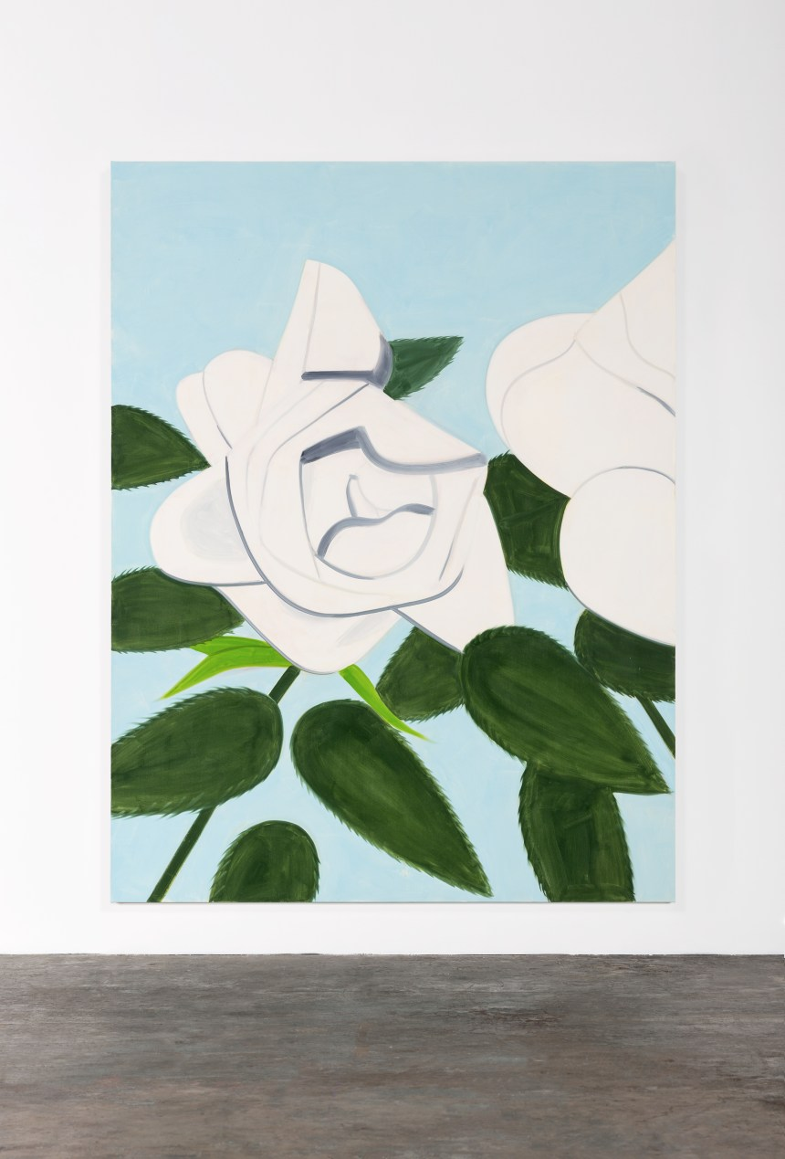 Gavin Brown - Alex Katz, White Rose, 2012, 900,000 美元, 圖片由 Sotheby's Gallery Network 提供