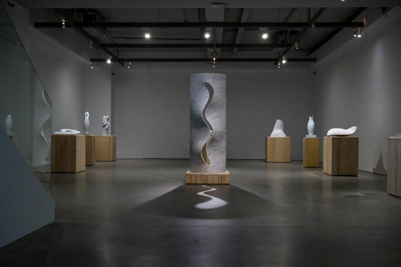 Installation View of Cynthia Sah solo exhibition, Courtesy of Double Square Gallery