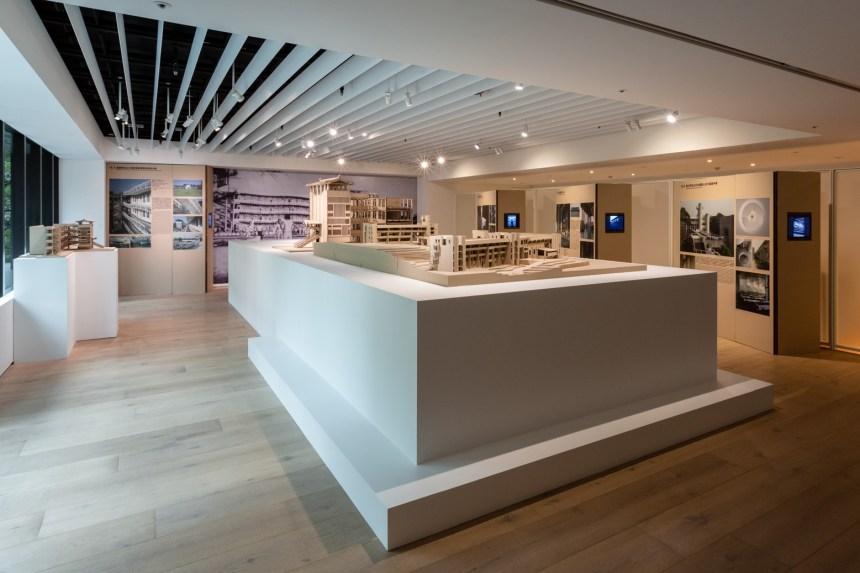 《SOS 拯救混凝土之獸!粗獷主義建築展》展覽現場 © 忠泰美術館