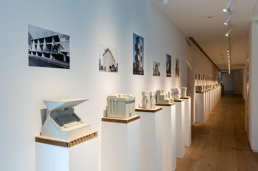 24座混凝土模型 © 忠泰美術館