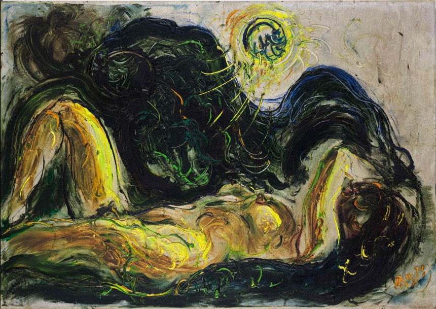 Affandi_Nude, Courtesy of Sotheby's