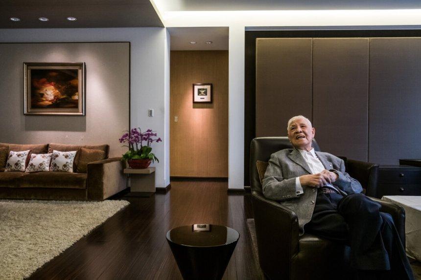 2018年的李登輝。他接替蔣經國成為台灣第一位本土總統。 LAM YIK FEI FOR THE NEW YORK TIMES