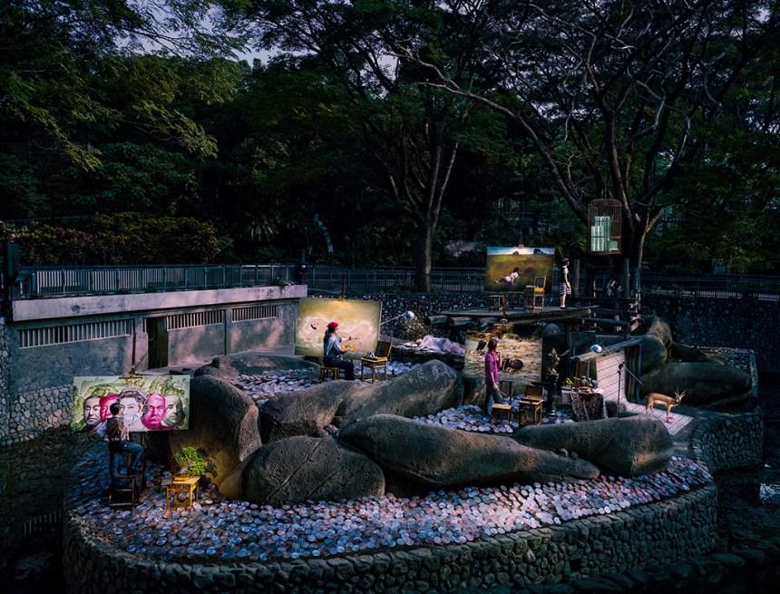 周慶輝, 人的莊園 No5. (2014) , 噴墨輸出, Courtesy of artist & Avocado攝影藝術中心 Avocado Photography Art Centre
