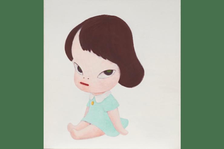 Yoshitomo Nara's Hot House Doll, in the White Room III, 1995. Courtesy Phillips.