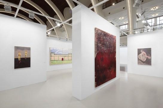 David Zwirner at 2020 Art021_Installation shots, Courtesy of David Zwirner 圖片由卓納畫廊提供