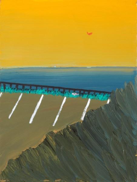 王俊傑 Matthew Wong, Horizon Light, © 2021 Monita K.Y. Cheng / Artists Rights Society (ARS), New York
