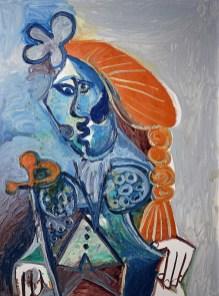 巴布羅・畢加索Picasso《鬥牛士》 油畫畫布,1970 年作 130 x 97 公分 估價:100,000,000 - 150,000,000 港元, Courtesy of Sotheby's Hong Kong