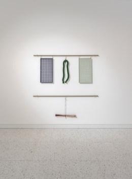 Suki Seokyeong Kang, Note — rope, mat, square #19-03, 圖/ 文心藝術基金會提供 Courtesy of Winsing Arts Foundation