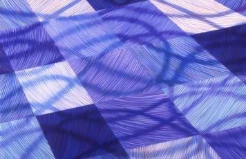Merge I, pastel on paper, 80h x 120w cm, 2004