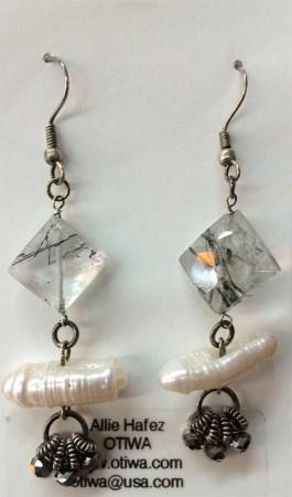 Allie Hafez: Polymer Clay, gemstones