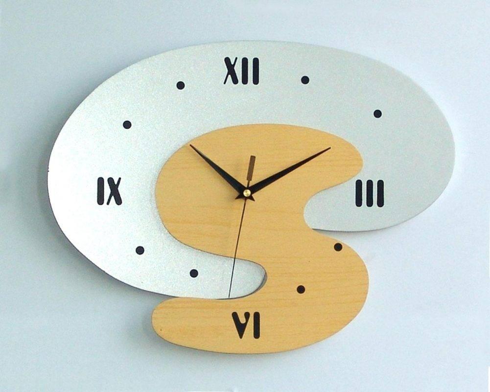 Doodle Art Deco Wall Clock