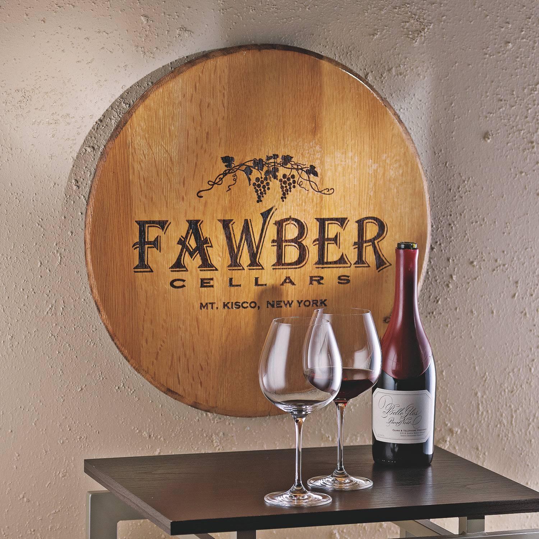 Wine Barrel Personalized Wall Decor