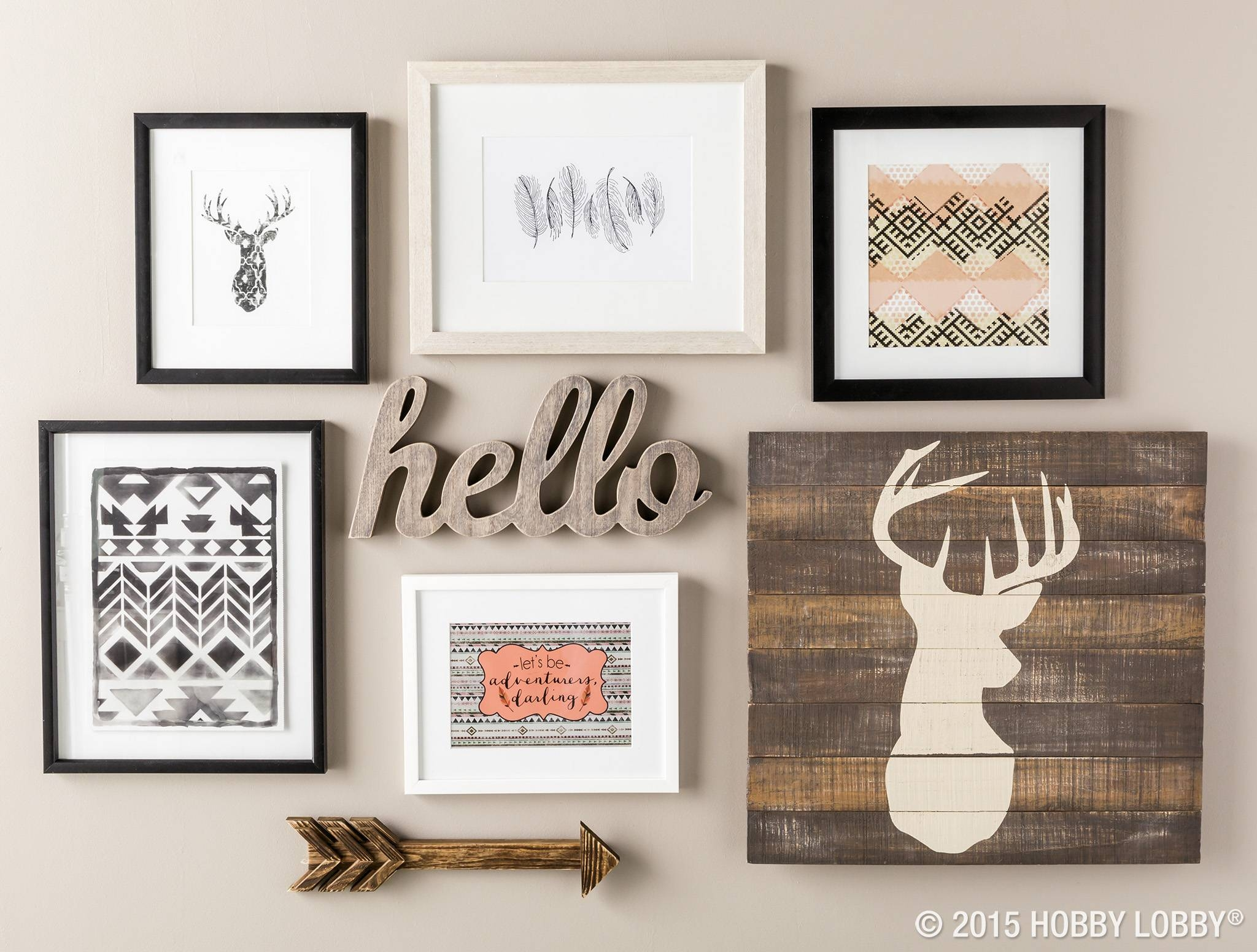 Best Ideas Of Country Style Wall Art Flag Rustic