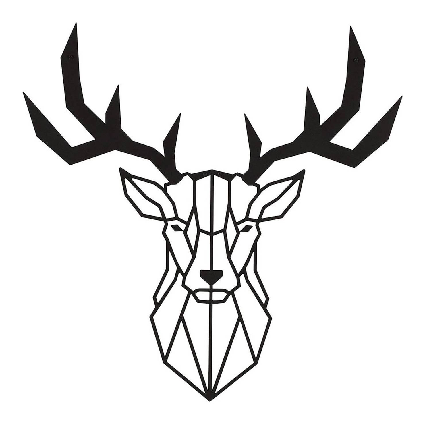 20 Best Ideas Of Deer Metal Wall Art