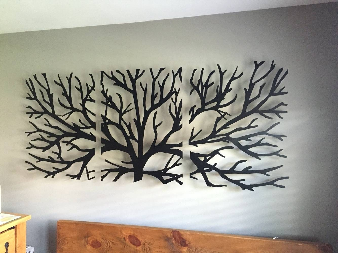 20 Ideas Of Branches Metal Wall Art