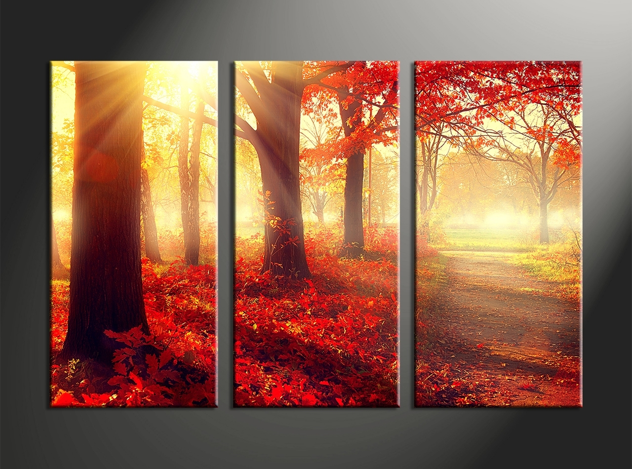 Top 15 Of 3 Piece Canvas Wall Art