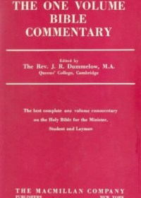 The One Volume Bible Commentary