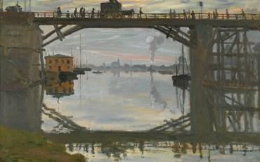 Клод Моне. «Деревянный мост». 1872