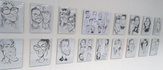 Cascade Caricatures caricaturist