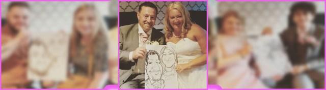 Wedding Caricatures Entertainment in Kidderminster