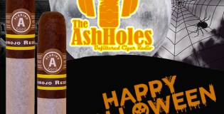 The Ashholes Smoke the Aladino Corojo Reserva