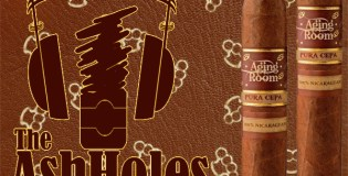 The Ashholes Smoke A Cigar From the Aging Room