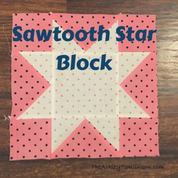 Sawtooth Quilt Block